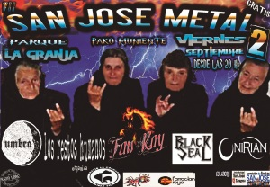 San Jose Metal-Pako Muniente 2016